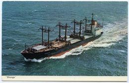 OCEAN TRANSPORT & TRADING : SHONGA - MULTI-PURPOSE SEMI-CONTAINER FREIGHTER - Pétroliers