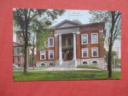 City Hall  Burlington    Vermont   >  Ref 4149 - Burlington