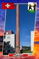 Postcard, REPRODUCTION, Municipalities Of Switzerland, Kriens 1 - Cartes Géographiques
