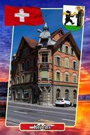 Postcard, REPRODUCTION, Municipalities Of Switzerland, Kriens 2 - Cartes Géographiques