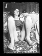 ° NU ° NUE ° HOMME ° FEMME ° Lot De 17 Plaques De Verre Positives  ° - Fine Nudes (adults < 1960)
