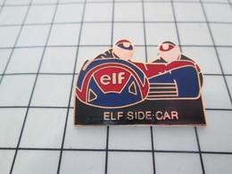 1218B Pin's Pins / Beau Et Rare / THEME : MOTOS / SIDE-CAR  ELF - Moto