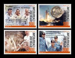 CAR 2020 Mih. 9622/25 Space. Apollo 13 MNH ** - Central African Republic