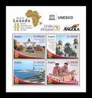 Angola 2019 Mih. 2356/59 UNESCO Pan-African Forum In Luanda MNH ** - Angola