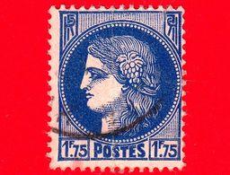 FRANCIA - Usato - 1938 - Divinità - Cérès De Mazelin - 1.75 - 1945-47 Cérès De Mazelin
