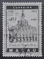 MAC5370U - 4th. Centenary Of The Death Of S. Francisco Xavier 40 Avos Used Stamp - Macau 1952 - Macao