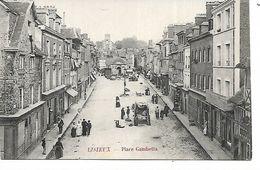 14 - LISIEUX - Place Gambetta  (Animée, Commerces) - Lisieux