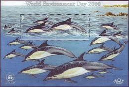 Jersey 2000 MiNr. 944(Block 26) Marine Mammals Short-beaked Common Dolphin 1 S\sh MNH** 7,00 € - Jersey