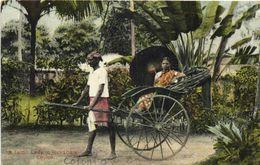 A Tamil Lady In Rickshaw RV - Sri Lanka (Ceylon)
