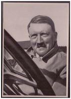 DT- Reich (008277) Propaganda Sammelbild Adolf Hitler Bild 4, Auf Seinen Reisen Durch Deutschland Bevorzugt Der Führer - Covers & Documents