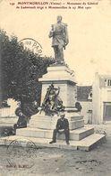 86 Vienne : Montmorillon Monument Du Général De Ladmirault    Réf 7921 - Montmorillon