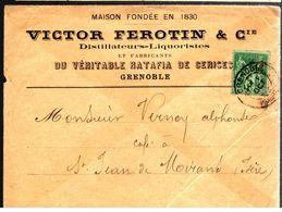 33217 - DISTILLATEUR  LIQUORISTE - 1877-1920: Periodo Semi Moderno