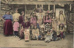 Un Petit Groupe D'Iroquois RV - Indiens De L'Amerique Du Nord