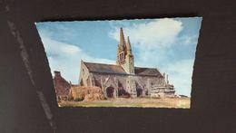 CARTE POSTALE TRONOËN - Chapelle (1470) Et Calvaire - MX 1371 - (JOS, Le Doaré, Châteaulin) (Meules De Foin Et Fourches) - Saint-Jean-Trolimon