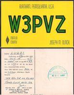 QSL W3PVZ Pennsylvania USA To LU2ZI  Antartida Argentina - 14/10/1967 - Cygnus - Radio