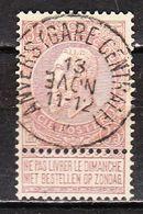 61  Fine Barbe - Bonne Valeur - Oblit. Centrale ANVERS(GARE CENTRALE) - LOOK!!!! - 1893-1900 Schmaler Bart