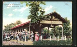 AK Catskill Mountains, NY, Station At Kaaterskill - NY - New York