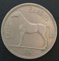 IRLANDE - EIRE - ½ Coróin / 2 Scilling 6 Pingin 1959 - KM 16a - Cheval - Horse - IRELAND - Irland
