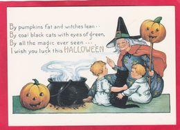 Modern Post Card Of Halloween,A77. - Halloween