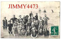 CPA - LE TREPORT - Groupe De Baigneurs En Costume De Bain D'époque 76 Seine Maritime - Papier Photo Bioletto N° 626 - Le Treport