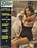 Rare Revue Ex Star System Le Cinéma érotique Des Années 70  N°11 - Erótico (...-)