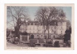 Jolie CPSM Deux Couleurs Larochebeaucourt, Dordogne, Château, 1945 - Autres Communes