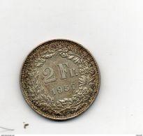 Suisse. 2 Francs 1957 - Suisse