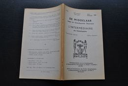 L'INTERMEDIAIRE DES GENEALOGISTES 76 1958 Généalogie Héraldique Bourgeois Bruxelles Pierre Tombale Sinsin MOENS BUTKENS - Histoire