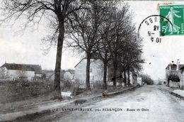 (Doubs)  CPA  Saint Ferjeux Pres Besancon Route De Dole  (bon Etat) - Autres Communes