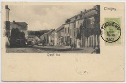 TINTIGNY : Grand-Rue - 1907 - Tintigny