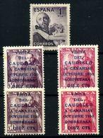 España Nº 1070, 1083B, 1088/9. Año 1950/1. - 1951-60 Nuevos & Fijasellos