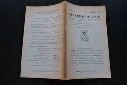 L' INTERMEDIAIRE DES GENEALOGISTES N°34 1951 Généalogie Héraldique GRANVELLE Blasons Ordre Constantinien Jeanne D'Arc - Histoire