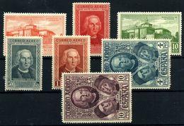 España Nº 559/65. Año 1930. - Oblitérés