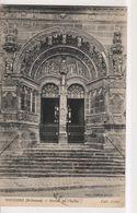 CPA-08-Ardennes- VOUZIERS- Portail De L'Eglise- - Vouziers