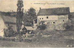 CPA Auzances Un Vieux Moulin Sur La Noisette - Auzances