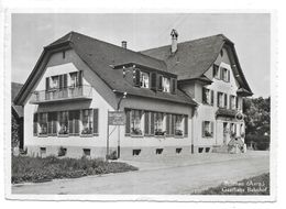Suisse...Brittnau..(Aarg)..Gasthaus Bahnhof...1961...cpsm 15 X 10.5 ... - AG Argovie