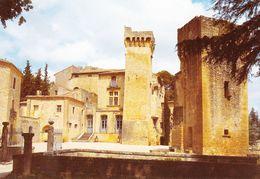 30 Vers Pont Du Gard Chateau De Saint Privas (2 Scans) - France