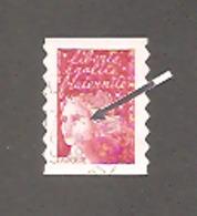 Marianne De LUQUET - LA POSTE 1997 - Y&T N°3085 -TVP Rouge.Type 1. Variété Point Rg Sur Fossette + PHO à Cheval Bas.TB. - 1997-04 Marianne (14. Juli)