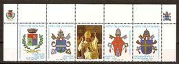 """(Fb).Vaticano.1997.""""Paolo VI"""".Striscia Di 5.nuova,integra (130-20) - Vaticano"""