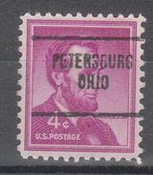 USA Precancel Vorausentwertung Preo, Locals Ohio, Petersbur 704 - United States