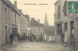 CPA Chéniers La Grande Rue - France
