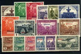 España Nº 620/35. Año 1931. - 1931-Aujourd'hui: II. République - ....Juan Carlos I