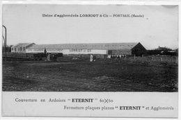 50 PORTBAIL      Usine D'agglomérés    LORRIOT Et Cie - France