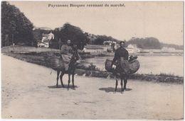 64. Paysannes Basques Revenant Du Marché - Non Classés