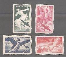 Y&T PA N°16** à  19**- Neufs Sans Charnière. TB. - 1927-1959 Ungebraucht