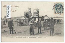 HIPPISME - DEAUVILLE (14) - Le Champ De Courses - Le Pari-mutuel à La Pelouse   -  (tirage 1900) - Ippica