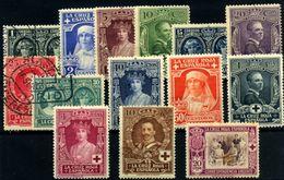 España Nº 325/38. Año 1926 - Gebraucht