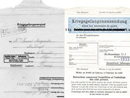 L- Stalag  VI J- Formulaire Pour Envoi De Colis -5Kg,,aux Prisonniers De Guerre- - Guerre De 1939-45