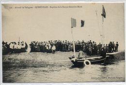 """50 QUINEVILLE      Baptême De La Barque   """" Geneviiève-Marie - France"""