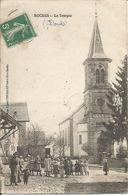 Cp Roches  Les Blamont 25 Le Temple Tres Animé Année 1908 - Non Classificati